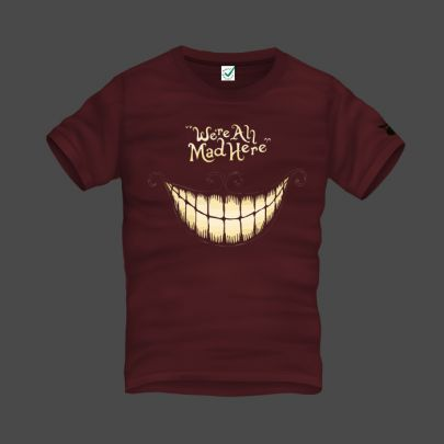 We Are All Mad Here Men T-Shirt